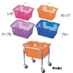 スケルトンミニバスケット(5ケ入) オレンジ