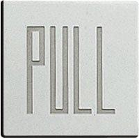 ドアサイン(35mm角) DS7-005 PULL