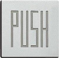 ドアサイン(35mm角) DS7-006 PUSH