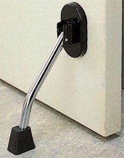 マグネット式ドアストッパー黒 ストロング