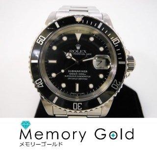 ROLEX ロレックス サブマリーナ Ref16610 L番 正規品 付属あり メンズ 腕時計 A16563