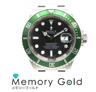 ROLEX ロレックス サブマリーナ Ref16610LV M番 自動巻き メンズ腕時計 付属品あり 管理A17428