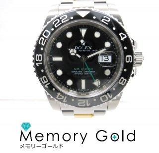 ROLEX ロレックス GMTマスター� Ref116710LN V番 黒文字盤 ステンレス 腕時計 管理A26022