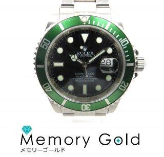 ROLEX ロレックス サブマリーナ 16610LV M番 グリーン メンズ腕時計 自動巻き 写真参照 A17468