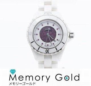 ☆CHANEL シャネル J12 H2035 ホワイト セラミック ルビー 銀座600本限定 クォーツ レディース 腕時計 A50749