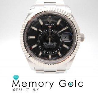 ♪ROLEX ロレックス スカイドゥエラー ブラック 腕時計 自動巻き 付属あり ギャラあり Ref326934 管理A57013