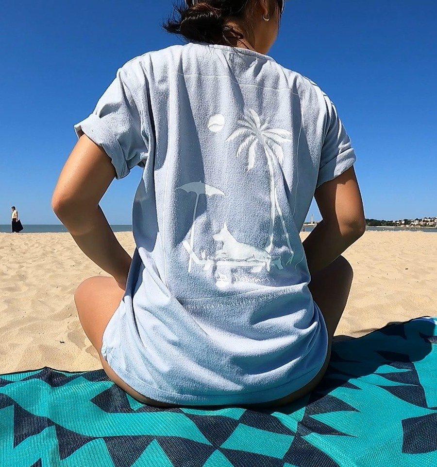 Fishing Net T-shirt[リサイクルTシャツ]