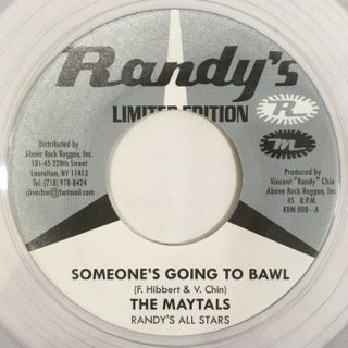 THE MAYTALS/SOMEONE'S GOING TO BAWL