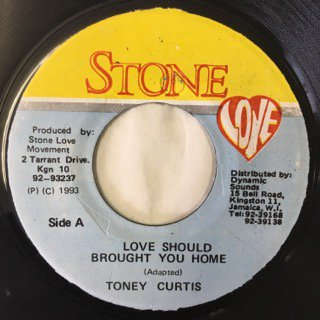 TONY CURTIS/LOVE SHOULD BROUGHT YOUHOME