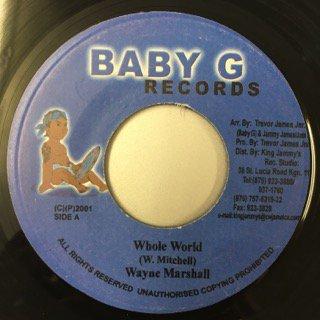 WAYNE MARSHALL/WHOLE WORLD