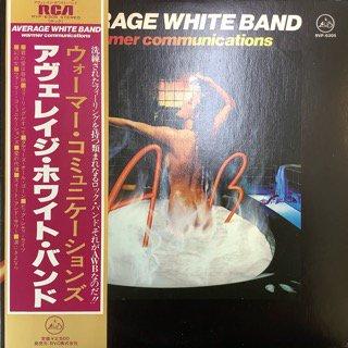 アヴェレイジ・ホワイト・バンド/ウォーマー・コミュニケーションズ AVERAGE WHITE BAND/WARMER COMMUNICATIONS