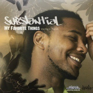 SUBSTANTIAL/MY FAVORITE THINGS(FEAT.STEPH)