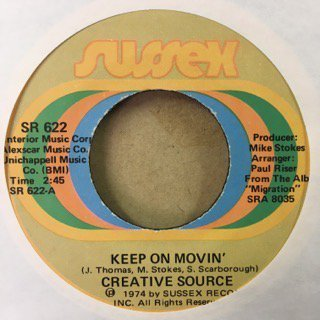Creative source/keep on movin'