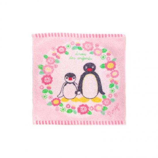 ピングー タオルチーフ(フラワーリース)ピンク PG525 PG