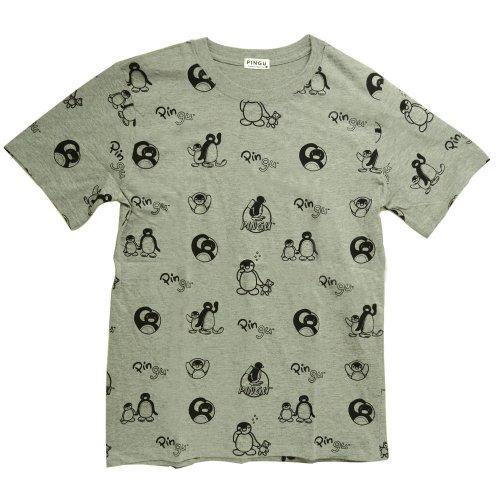 天竺 半袖Tシャツ(ライトグレー)M PG1182-507 PG