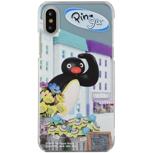 iPhoneX対応ハードケース(Pingu in the city) PG-57B PG