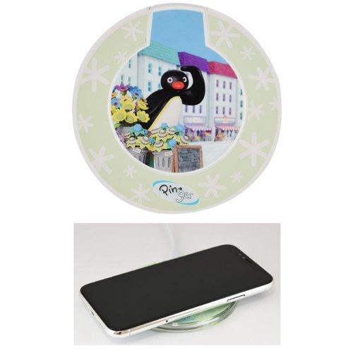 ワイヤレスチャージャー(Pingu in the city) PG-63C PG