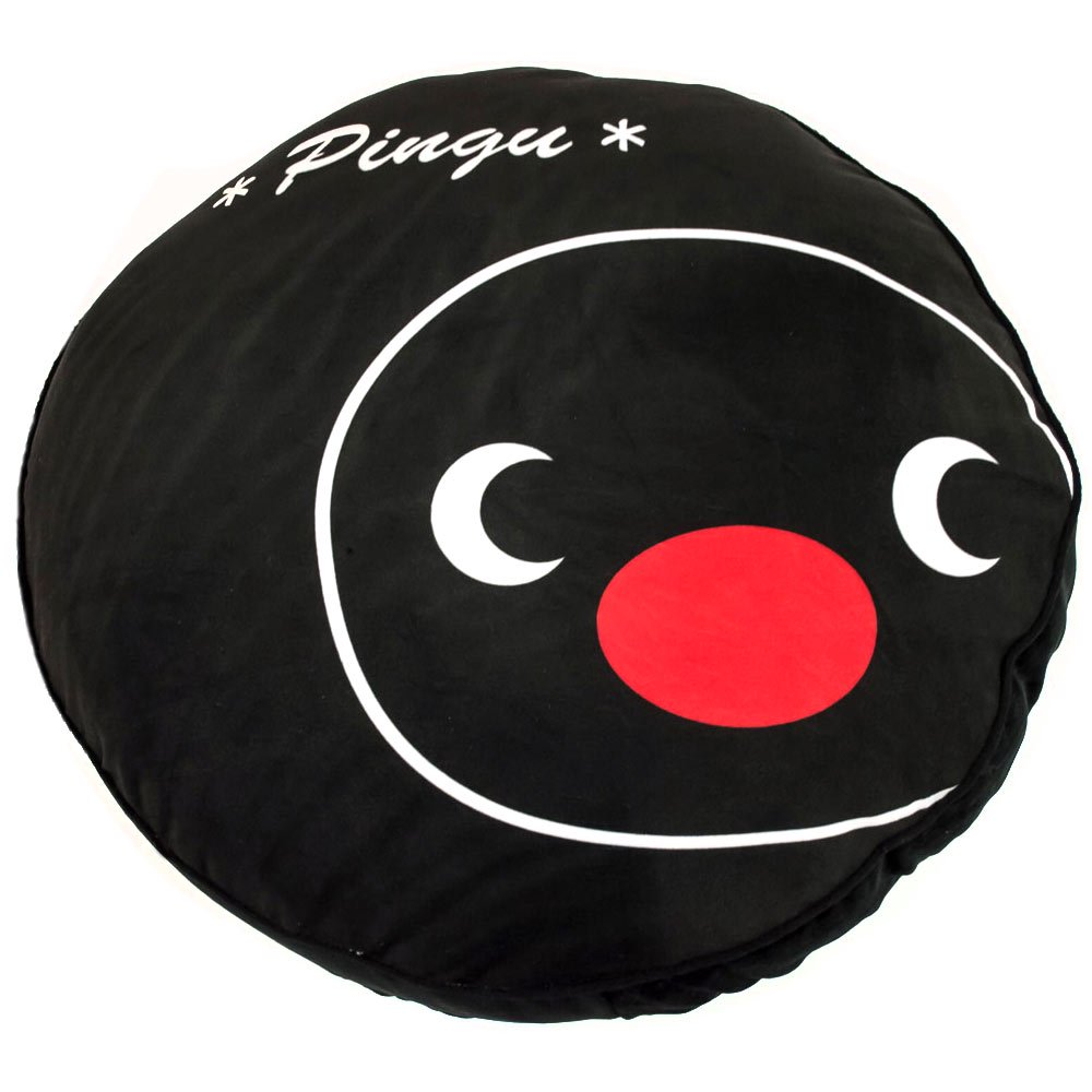 ピングー フェイスクッション 丸(ピングー)ブラック 736735 PG