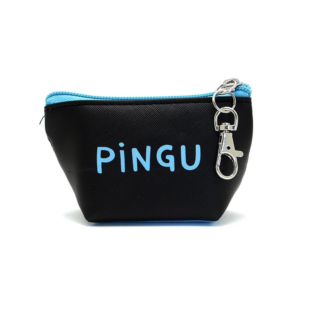 ピングー 三角ミニポーチ(ピングー/フェイス)PI-5533349PU PG