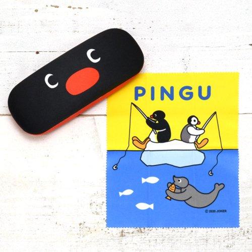 【生産終了品】メガネケース(お顔 ピングー) PNGM-017  PG