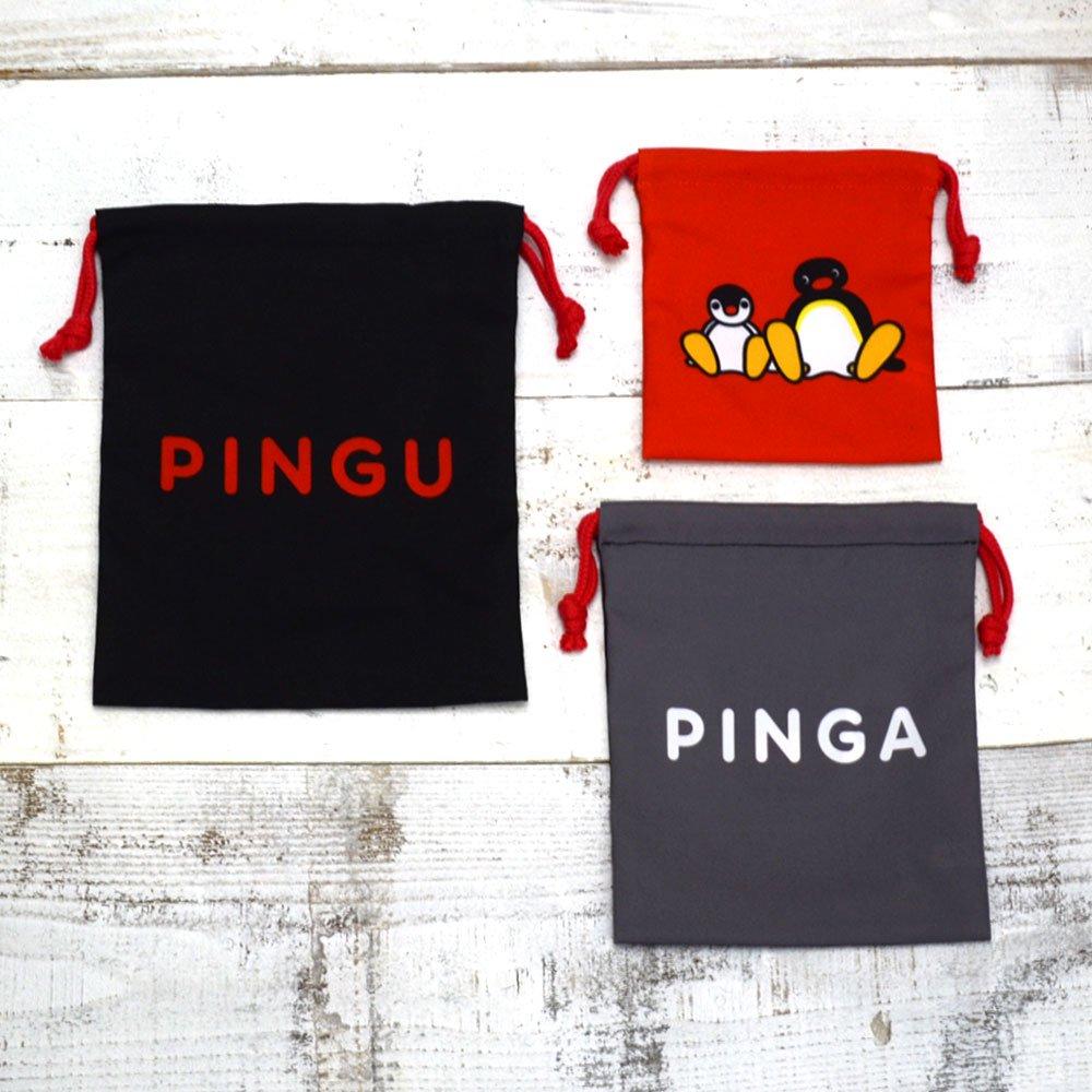 ピングー <img class='new_mark_img1' src='https://img.shop-pro.jp/img/new/icons59.gif' style='border:none;display:inline;margin:0px;padding:0px;width:auto;' />3P巾着(お顔ピングー)PNGM-021  PG