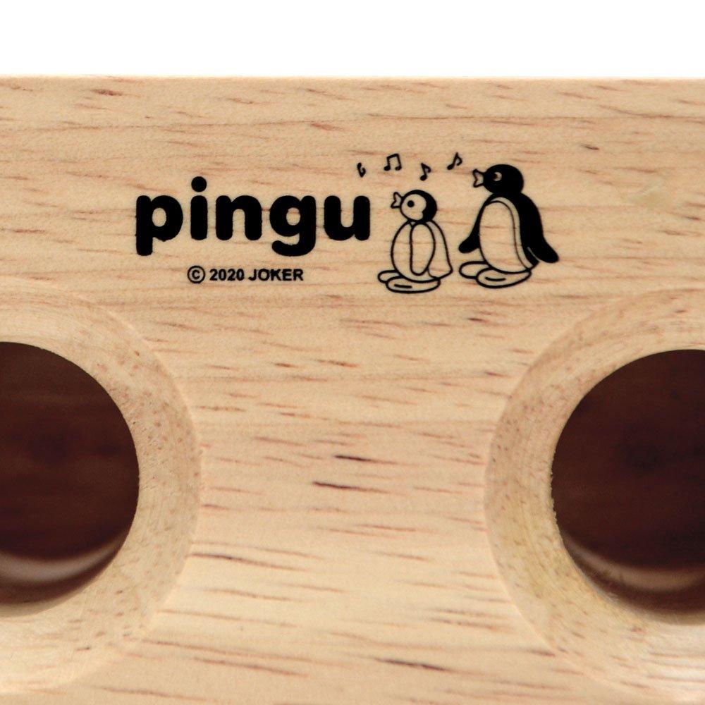 ピングー <img class='new_mark_img1' src='https://img.shop-pro.jp/img/new/icons30.gif' style='border:none;display:inline;margin:0px;padding:0px;width:auto;' />ウッドスピーカースマホスタンド PG