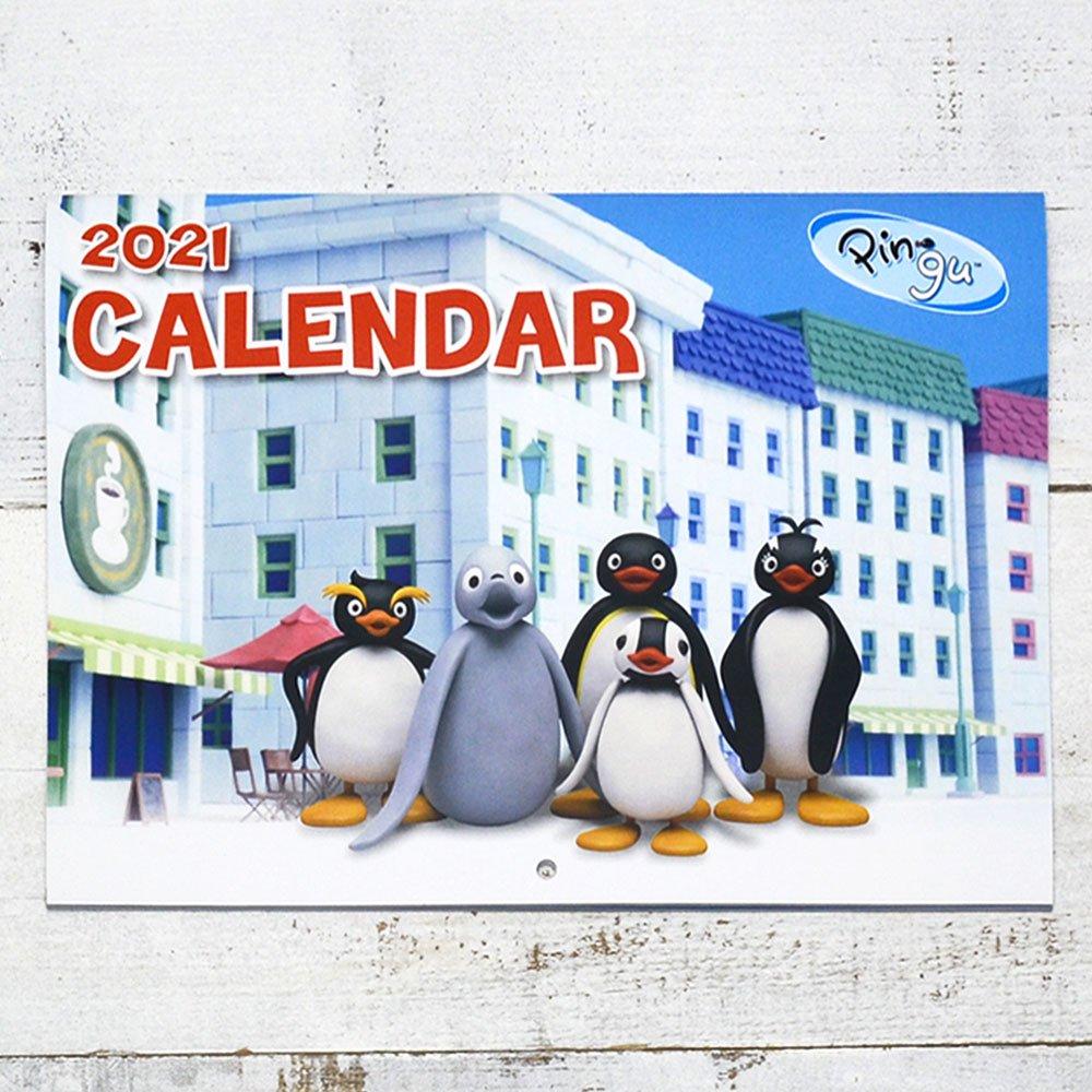 ピングー 2021 ウォールカレンダー PG
