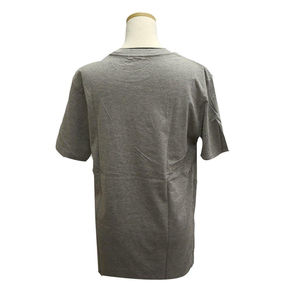 ピングー <img class='new_mark_img1' src='https://img.shop-pro.jp/img/new/icons11.gif' style='border:none;display:inline;margin:0px;padding:0px;width:auto;' />天竺 ポケット付半袖Tシャツ (グレー)M PG1182-506 PG