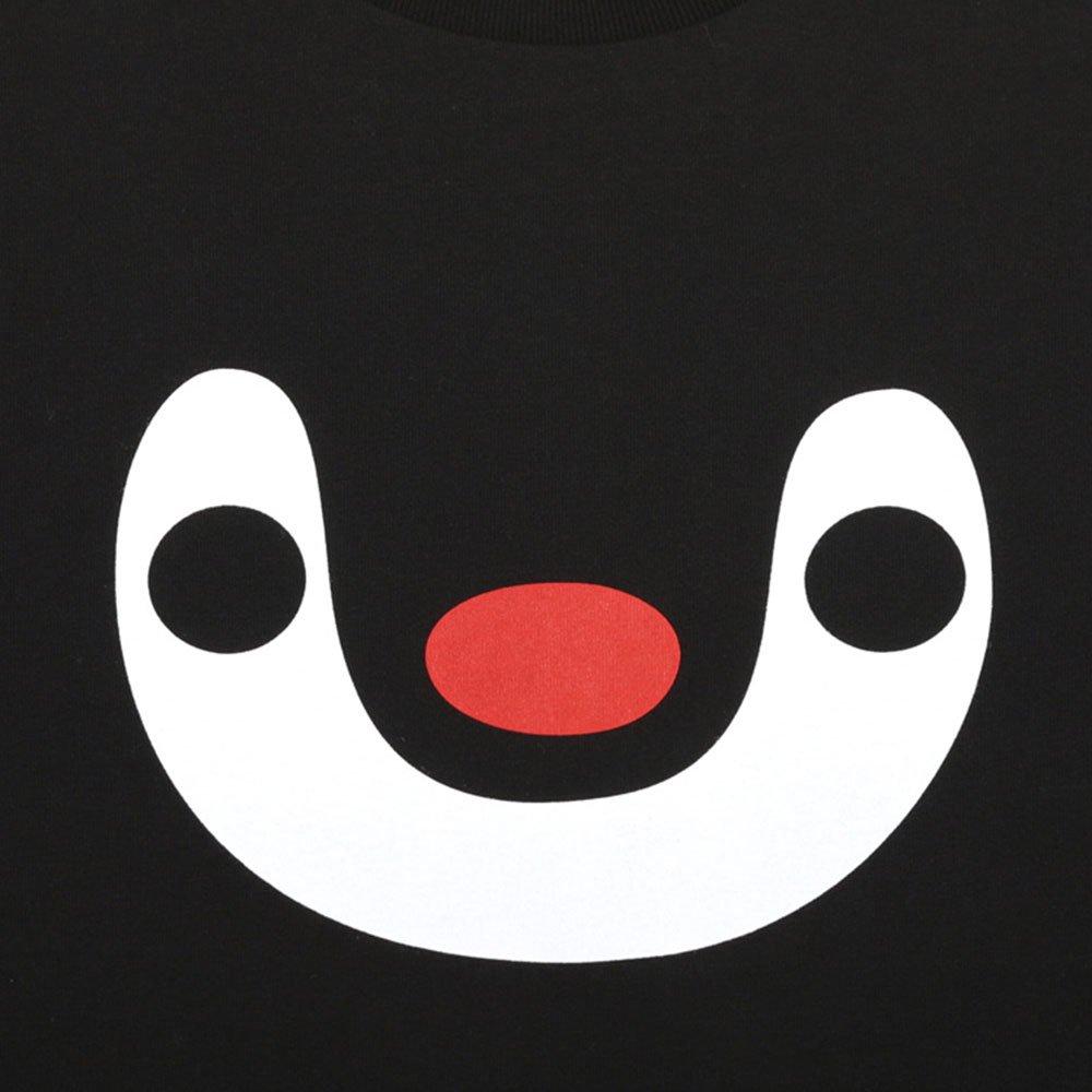 ピングー <img class='new_mark_img1' src='https://img.shop-pro.jp/img/new/icons11.gif' style='border:none;display:inline;margin:0px;padding:0px;width:auto;' />Tシャツ (ピンガとピングー)ブラック XL 101000381 PG