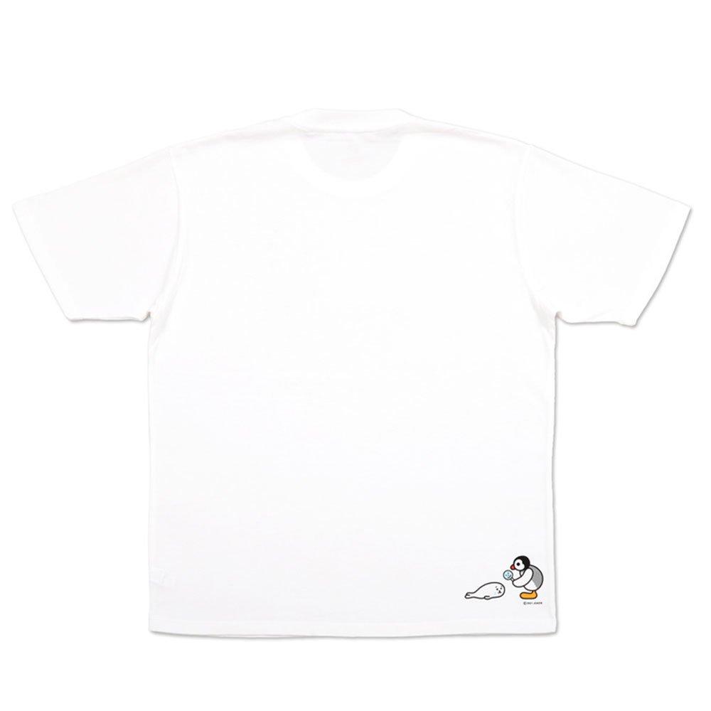 ピングー Tシャツ (ピングーと子あざらし)ホワイト XL 101000382 PG