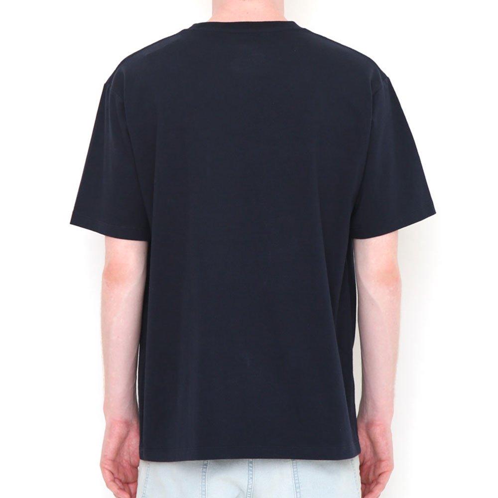 ピングー <img class='new_mark_img1' src='https://img.shop-pro.jp/img/new/icons11.gif' style='border:none;display:inline;margin:0px;padding:0px;width:auto;' />Tシャツ (ピングーポケット)ネイビー L 018003023 PG