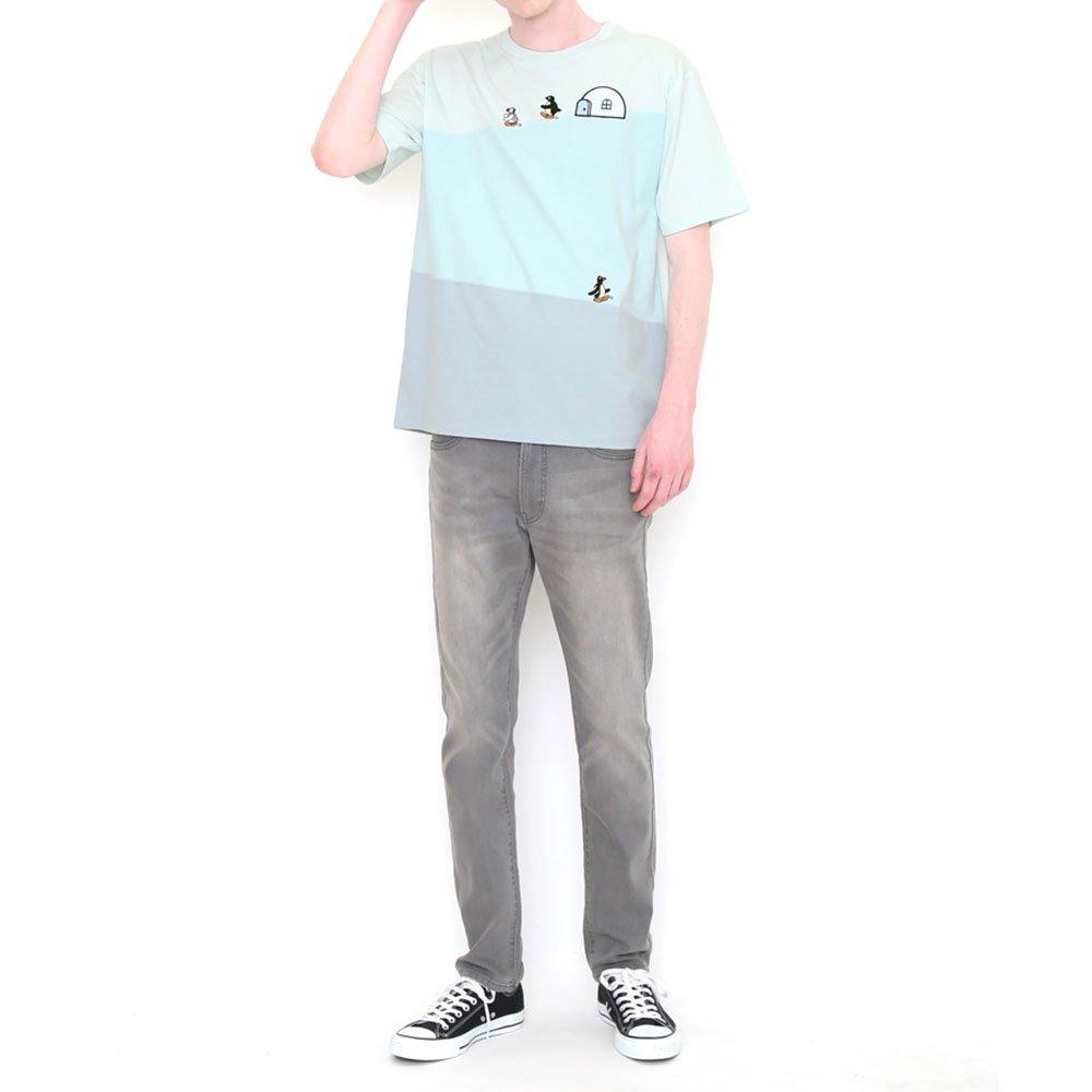 ピングー <img class='new_mark_img1' src='https://img.shop-pro.jp/img/new/icons11.gif' style='border:none;display:inline;margin:0px;padding:0px;width:auto;' />Tシャツ (ピングーフレンズ)ブルー S 018003024 PG