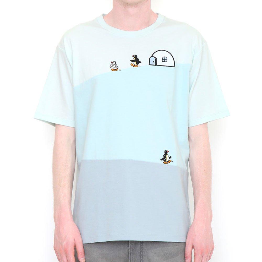 ピングー <img class='new_mark_img1' src='https://img.shop-pro.jp/img/new/icons11.gif' style='border:none;display:inline;margin:0px;padding:0px;width:auto;' />Tシャツ (ピングーフレンズ)ブルー M 018003024 PG