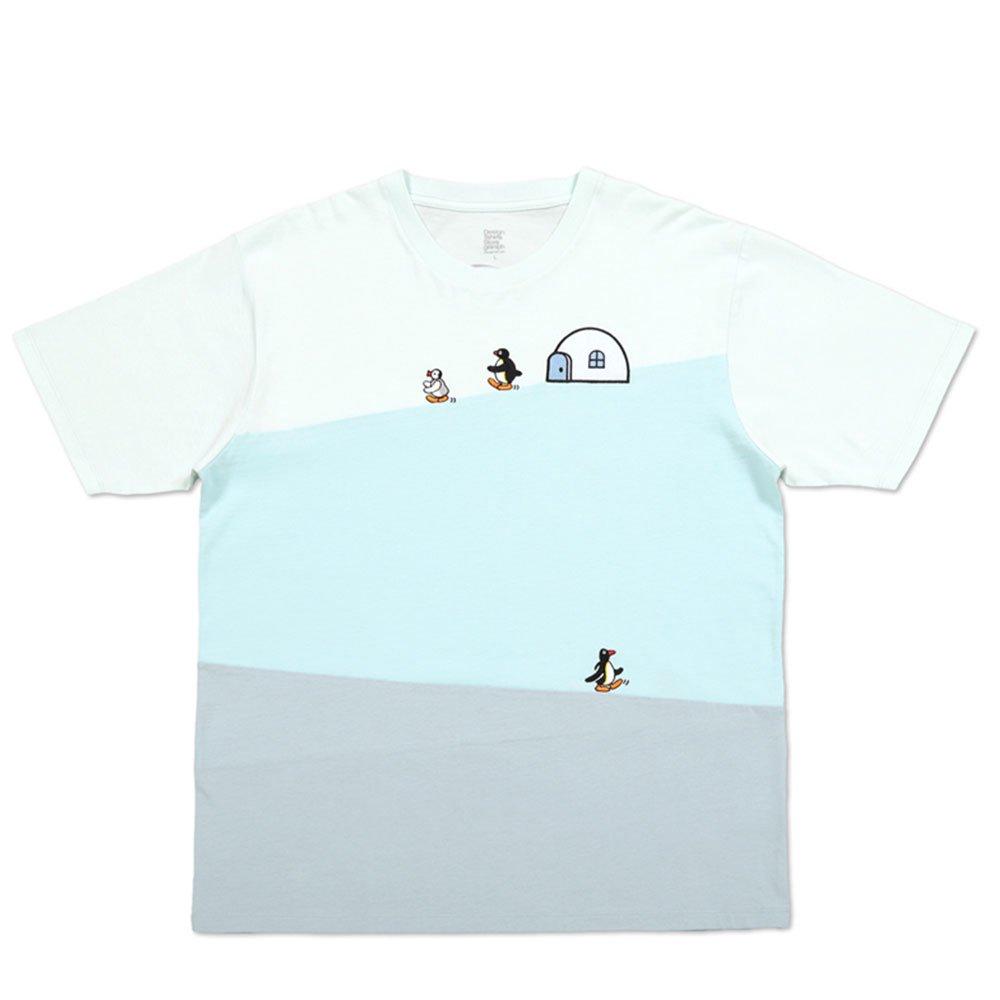 ピングー <img class='new_mark_img1' src='https://img.shop-pro.jp/img/new/icons11.gif' style='border:none;display:inline;margin:0px;padding:0px;width:auto;' />Tシャツ (ピングーフレンズ)ブルー XL 018003024 PG