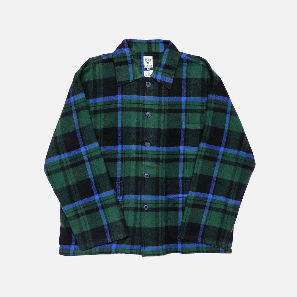 <img class='new_mark_img1' src='https://img.shop-pro.jp/img/new/icons25.gif' style='border:none;display:inline;margin:0px;padding:0px;width:auto;' />S2 Hunting Shirt Plaid