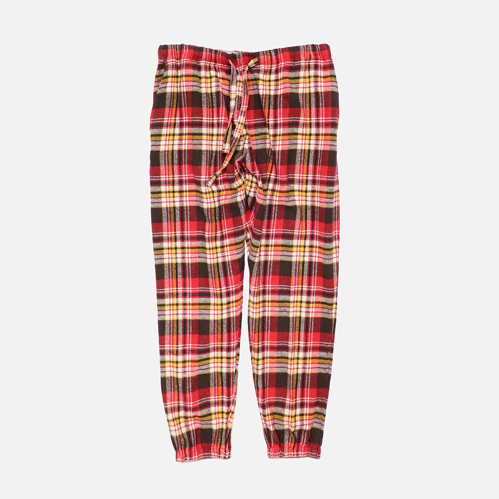 <img class='new_mark_img1' src='https://img.shop-pro.jp/img/new/icons25.gif' style='border:none;display:inline;margin:0px;padding:0px;width:auto;' />S2 String Slack Pant Plaid