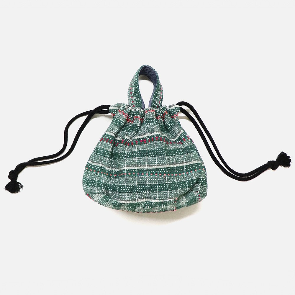 Dahl'ia Sashiko Bucket Bag