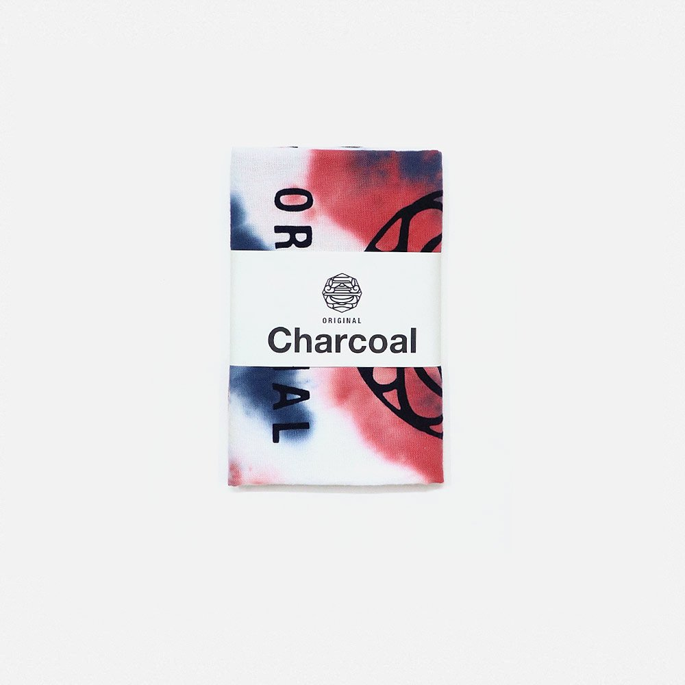 Charcoal TENUGUI Tye-Dye