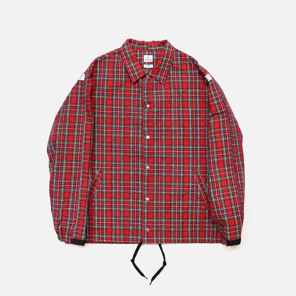 OP Tartan Stitch Coach Jacket