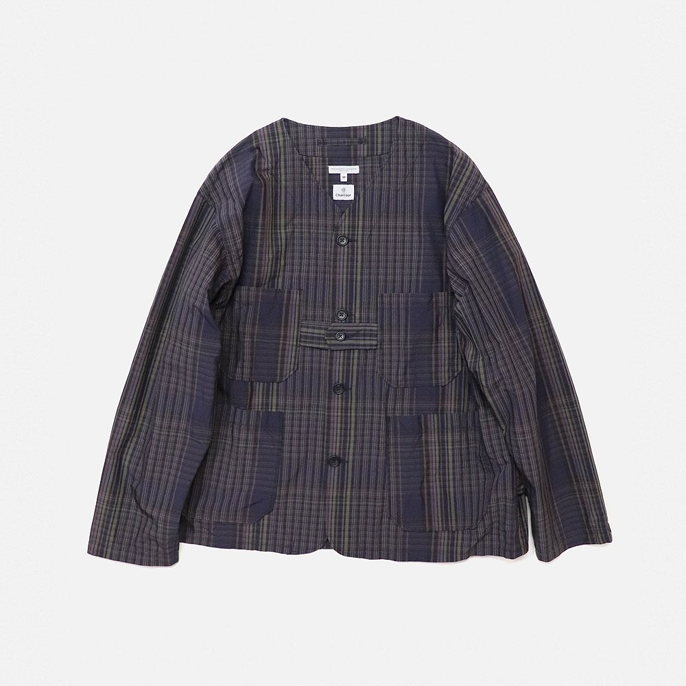 EG Cardigan Jacket (Multi Plaid)