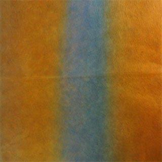 染め和紙2色ぼかし 青茶 80×53.5�