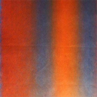 染め和紙2色ぼかし 青赤80×53.5�