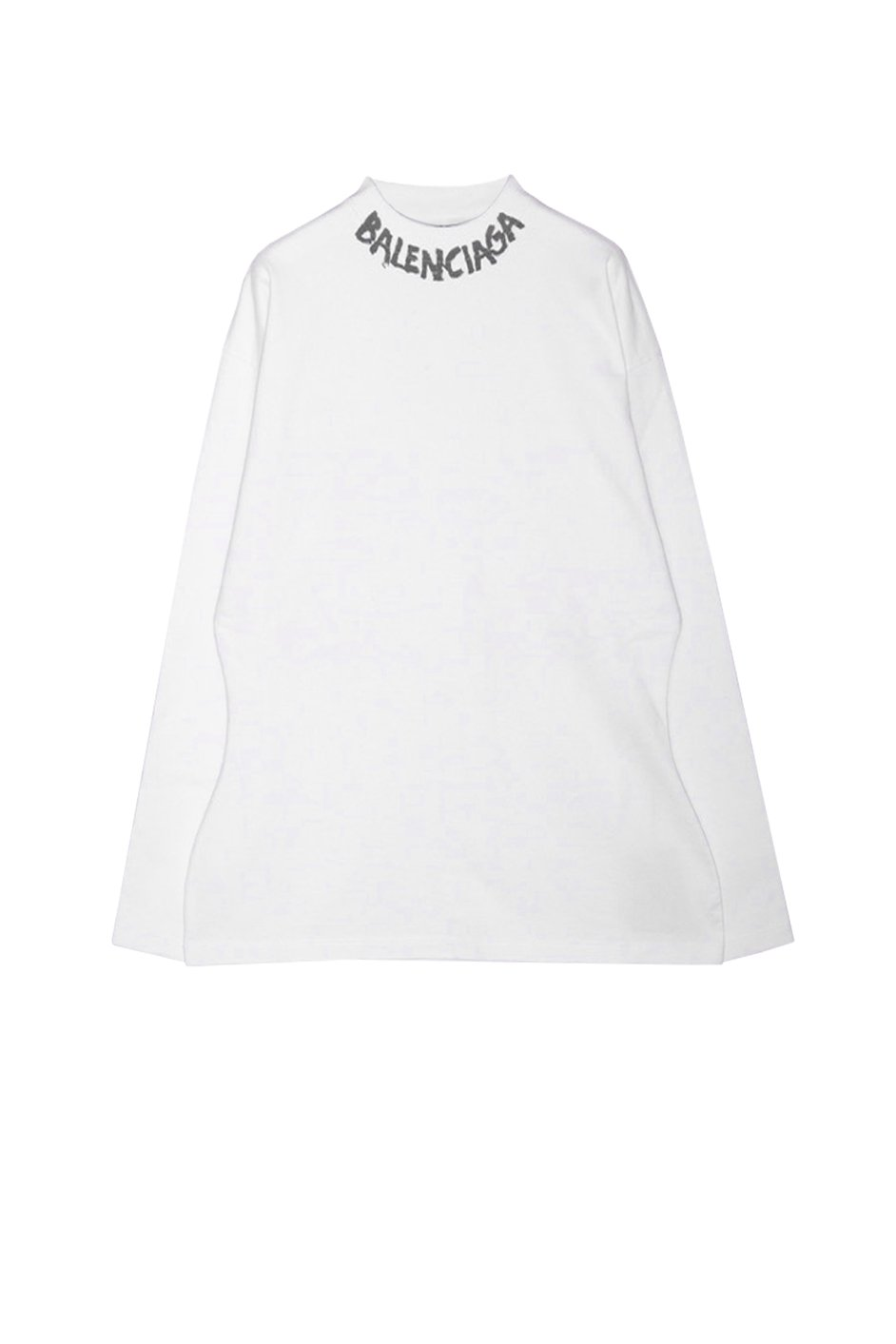 Curved L/S T-Shirt