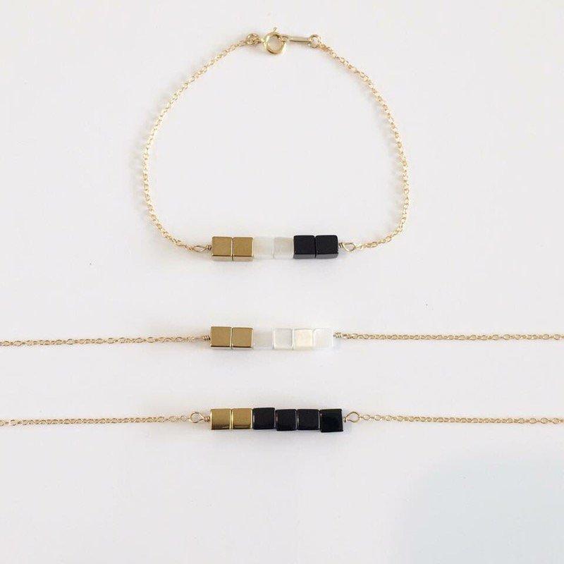 Cube Mix bracelet