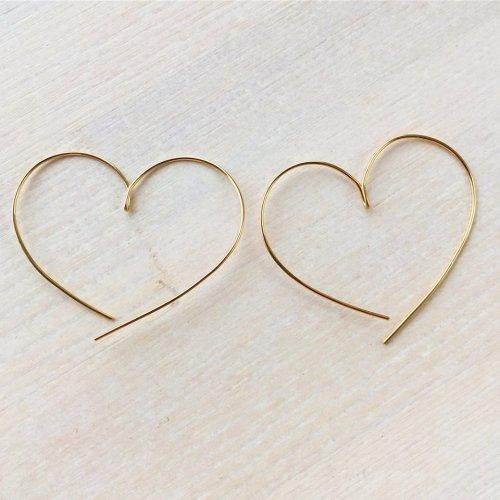 Heart shape pierce