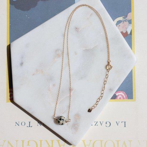 Dalmatian Jasper necklace