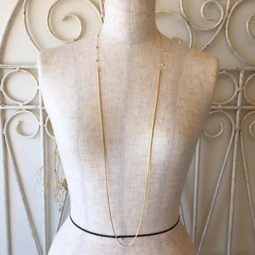Combi chain long necklace