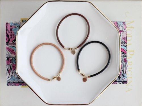 Leather bracelet (ladies)