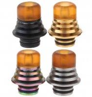 味重視型 ステンレススチール304製 ドリップチップ★304 Stainless Steel + PEI Hybrid Drip Tip【9661087】