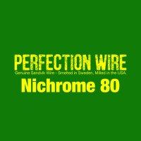 PERFECTION WIRE Nichrome 80★パーフェクション ワイヤー ニクロム80★SAITO WIRE vapors creation サイトー ワイヤー Ni80